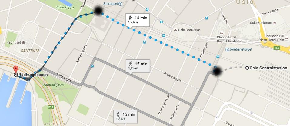 Marathon Subway Map.Runner Info Oslo Maraton