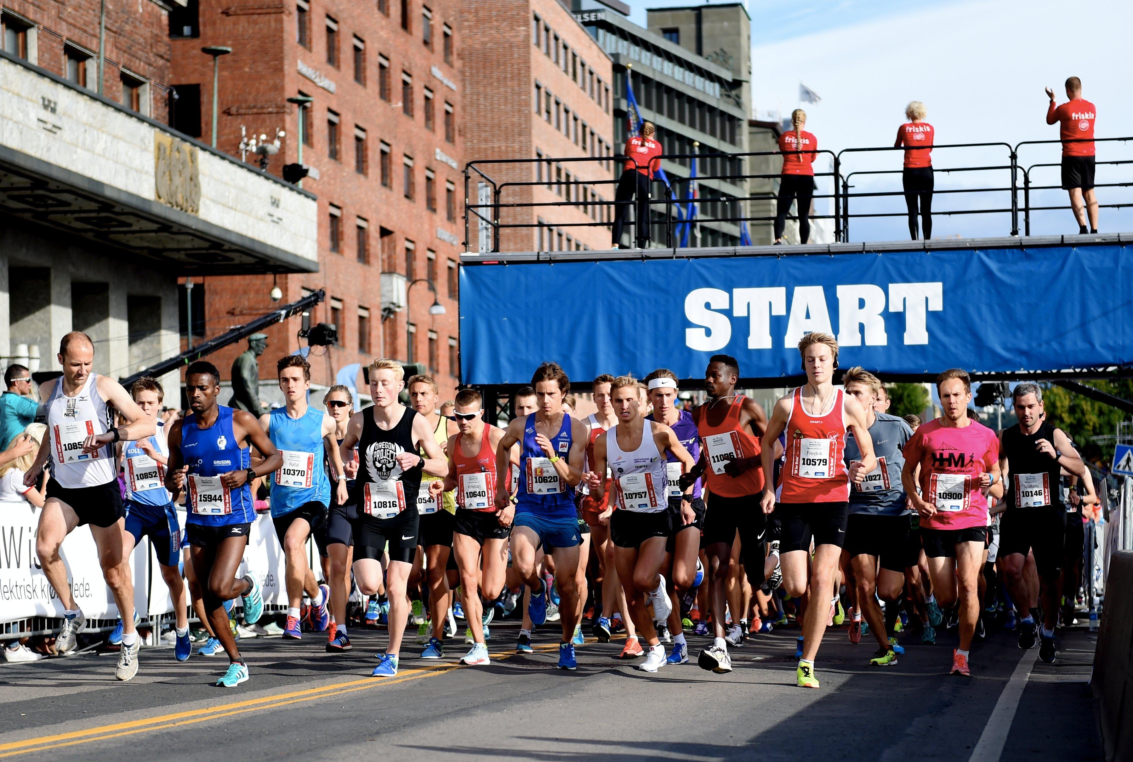 Sportsklubben Rye i Oslo maraton